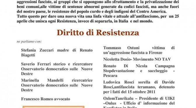 15 APR // Diritto di Resistenza – Madri per Roma Città Aperta